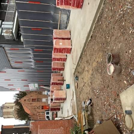 betonplaat gelijkvloers